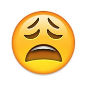 whiney emoji