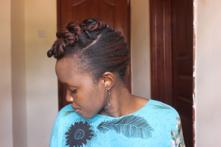 How to grow type 4 natural hair edges
