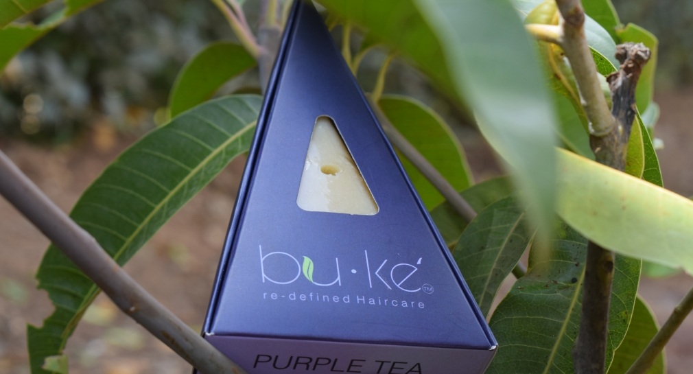 Bu.Ke Purple Tea Shampoo Bar