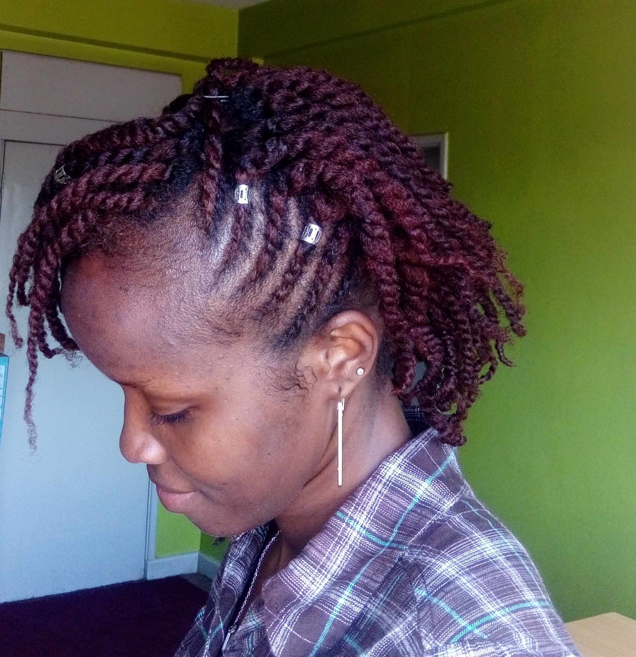 Clean Parts on Flat Twist and Twist on Type 4 Hair