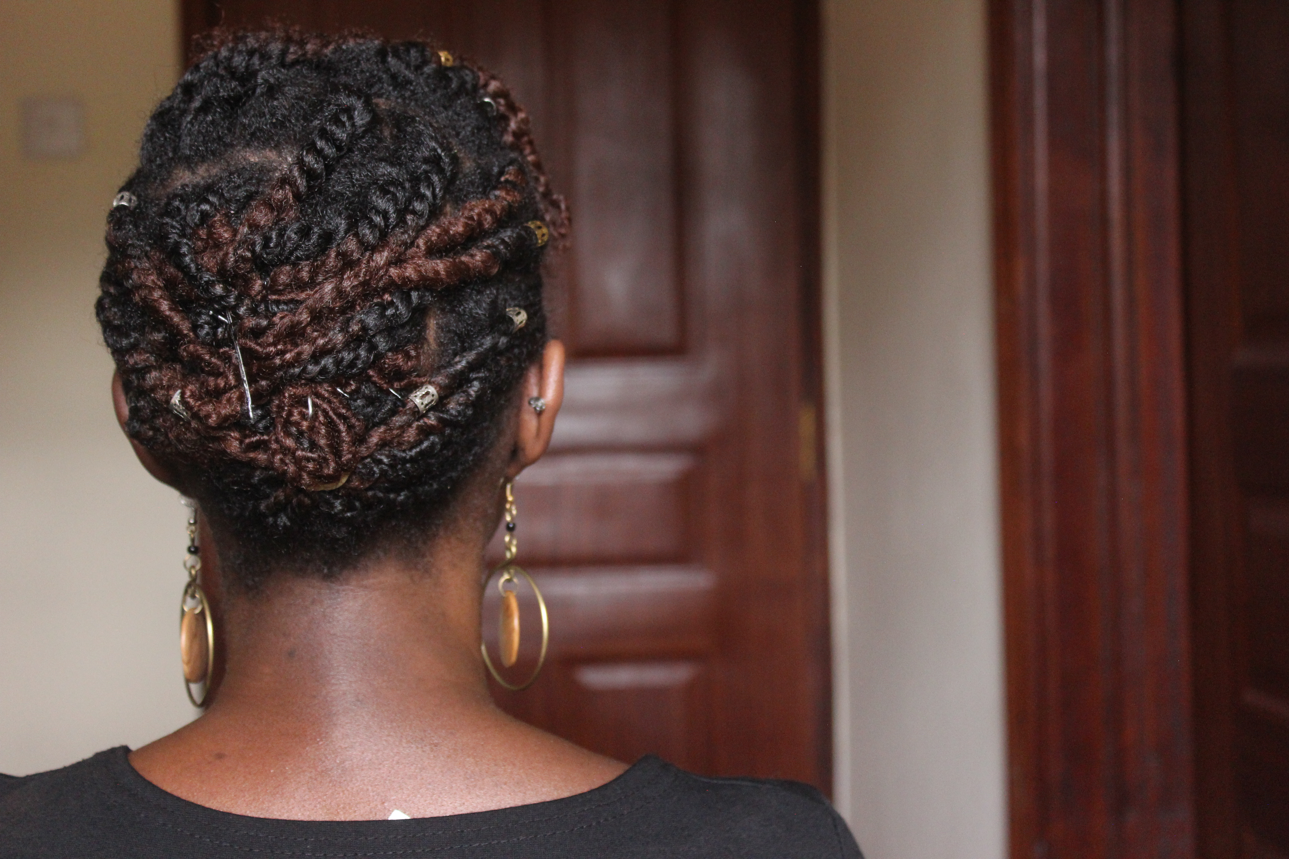 Flat Twists and Two Strand Twists on Type 4 Natural HairFlat Twists and Two Strand Twists on Type 4 Natural Hair